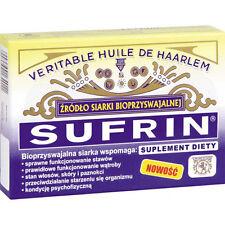 SUFRIN 60 Kaps. BIO-siarka sulfur stawy wątroba włosy skóra Anti-aging