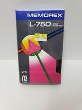 Memorex Betamax L-750 Video Cassette Sealed