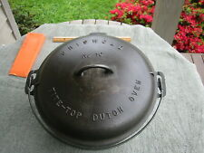 Griswold Cast Iron Dutch Oven number 10