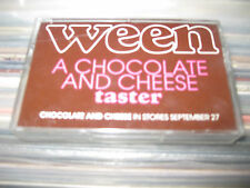 Ween Chocolate Cheese Taster TAPE USA Promo Cassette Elektra PUNK ROCK PSYCH