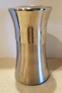 Mikasa, David Rockwell Stainless Cocktail Drink Mixer. 6ins tall.