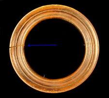 Cadre circulaire XIX ème siècle en bois 13 cm intérieur 17 cm extérieur Frame