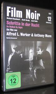 DVD SCHRITTE IN DER NACHT - FILM NOIR 12 - ALFRED L. WERKER + ANTHONY MANN * NEU
