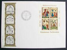 Fancy Cancel Liechtenstein Stamps