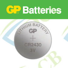 1X GP LITHIUM CR2430 BUTTON CELL COIN BATTERY BRANDED GOOD QUALITY