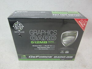BFG Tech GeForce 8400GS 512MB DDR2 Memory Card  X16 PCI EXPRESS NEW SEALED