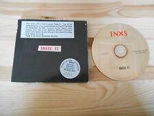 CD Pop INXS - Taste It (1 Song) Promo INXS