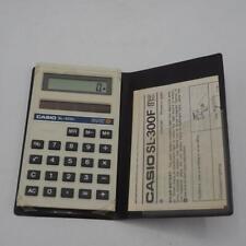 Casio SL-300F VTG Calculator 1980's