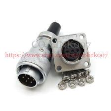 WEIPU WS16 7pin Power Connector, Aviation High Voltage Bulkhead Solder Wire Plug