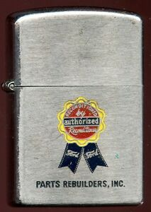 1950s Advertising Lighter - Parts Rebuilders (Ford Reconditioner) by Libertylite