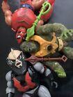 Mattel Vintage He-Man Masters of the Universe, Motu, Buzzsaw Hordak And Friends