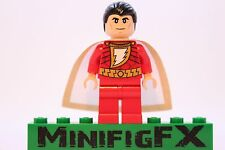Lego SHAZAM Custom Printed Minifig DC Superhero Billy Batson Captain Marvel