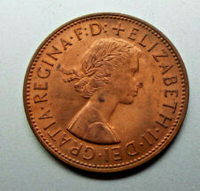 More details for 1967 vintage old style british qe ii britannia penny coin (1d)