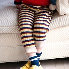 Misha & Puff Orion Knitted Jogger alabaster stripe 3-4 years £78
