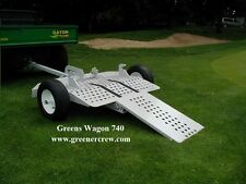 Trailer Golf Course Greens Mower Jacobsen, Toro, John Deere, PGM/Ransome,