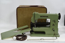 Bernina 121 Knee Operated Vintage Sewing Machine - RARE 1950's/60's - with Acces