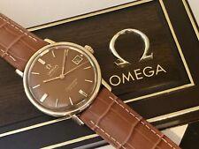 Omega vintage 1966 UOMO RARE SEAMASTER DE VILLE AUTOMATICO 14K gold capped + Scatola