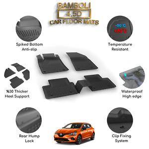 Premium 4,5D Car Floor Mat for Renault Clio 5