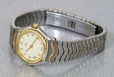 edle Ebel Mini Sport Classic Lady Stahl/Gold Quartz Armbanduhr Ref. 18148871 RAR