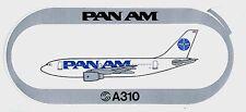 Pan Am A310 Sticker Decal =