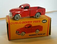 DINKY DUBLO No 065 MORRIS PICK-UP. MINT IN ORIGINAL CARDED BOX