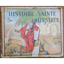HISTOIRE SAINTE ILLUSTRÉE par Joseph Porphyre PINCHO CAÏN  et ABEL à DANIEL 1934