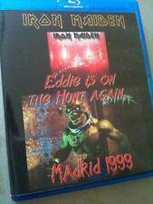 Iron Maiden Concert Blu Ray Madrid Spain Ed Hunter Tour 1999