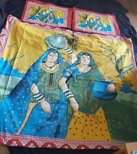 Cotton Bed sheet IndianQueen size