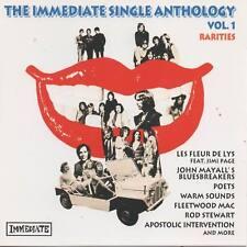 The Immediate Single Anthology Vol.1 CD NEU John Mayall Les Fleur de Lys Poets