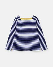 Joules 212423 Square Neck Jersey Top Shirt - JET BLUE