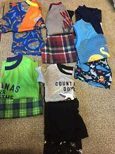 Boys Size 3T Pajamas~Lot Of 12~EC~Carter's