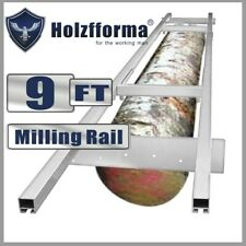 9FT Holzfforma Milling Rail System Guide Set WT 20/24/36/48 Inch Chainsaw Mills