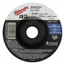 Milwaukee 49-94-4510 4-1/2 in x 1/8 in x 7/8 in Grinding Wheel (Type 27) 10 pk