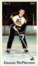 1984-85 Brandon Wheat Kings #19 Darwin McPherson