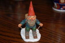 Rien Poortvliet Classic David the Gnome Statue Paul on Skites