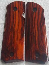 1911 FULL SIZE GRIPS COCOBOLO COLT, ED BROWN, SMITH & WESSON, PARA Kimber X-41