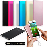 Ultrathin 20000mAh Portable External Battery Charger Power Bank for Cell Phone