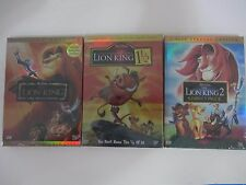The Lion King Trilogy Collection-Lion King(6-Disc DVD set)**All 3Lion King movie
