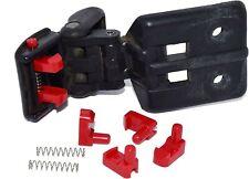 2 x Suzuki Jimny, Vitara, Geo Tracker soft top latch clips, RED