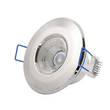 Click Inceptor Nano5 Fixed Polished Chrome Dimmable LED Downlight - Cool White
