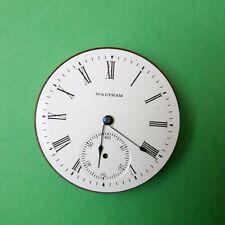 Vintage Waltham Pocket Watch, Movement Serial Number 10186870, Parts/Repair