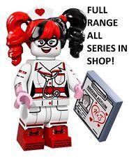 Lego nurse harley quinn the lego batman movie series 1 unopened new sealed