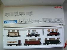 Märklin 45103 Güterwagen-Set Geislinger Steige K.W.St.E. gealtert OVP M186
