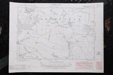 Vintage Norfolk Ordnance Survey Map - Edgefield