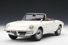 1:18 AUTOart ALFA ROMEO 1600 DUETTO SPIDER weiss 1966  NEU NEW