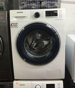 SAMSUNG White Washing Machine Ecobubble Technology 8kg