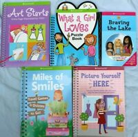 American Girl Activity Books Crafts Puzzle  Lot of 5 NEW Books #S-1