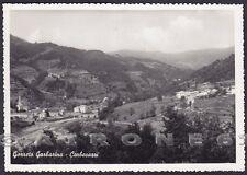 GENOVA GORRETO 03 GARBARINO - CORBESASSI Cartolina FOTOGRAFICA viaggiata 1955