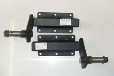 TRAILER SUSPENSION UNITS 350KG BLACK STANDARD LENGTH STUB AXLE