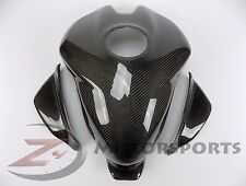 Ducati 899 959 1199 1299 Gas Tank Fuel Cover Panel Fairing Cowl Carbon Fiber